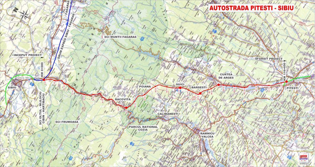 Cum Arata Situatia Autostrazilor Din Romania Harta