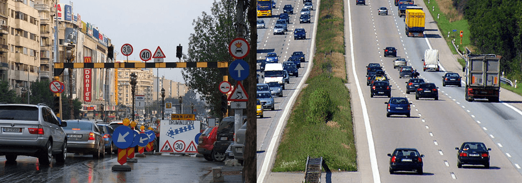 autostrada germania vs bucuresti