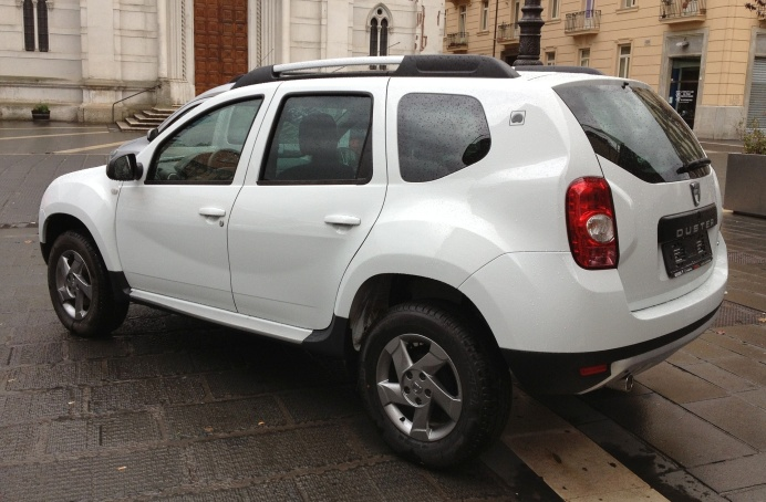 dacia duster second hand