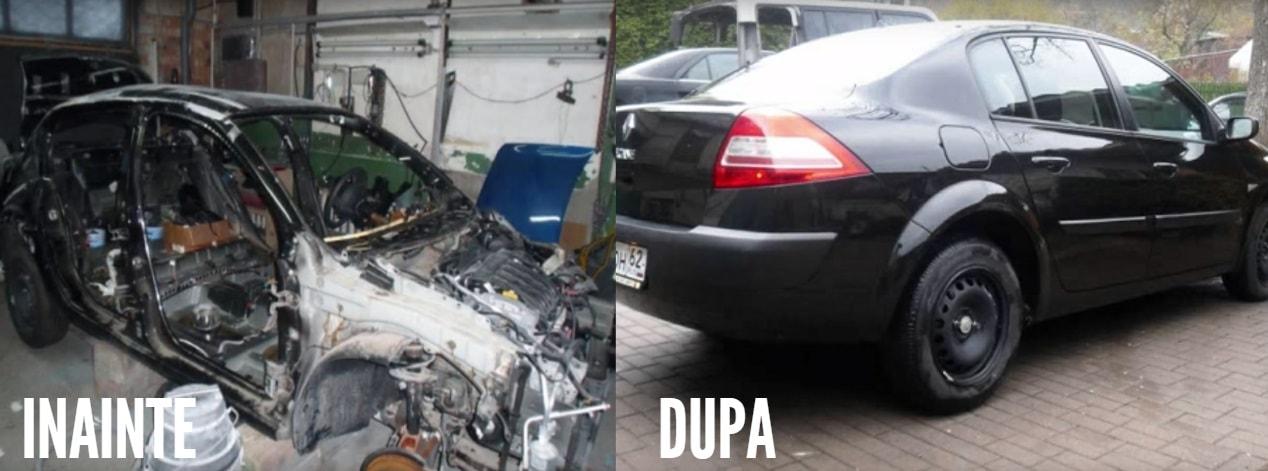 Tu crezi ca ai luat o masina impecabila, dar de fapt e o dauna totala