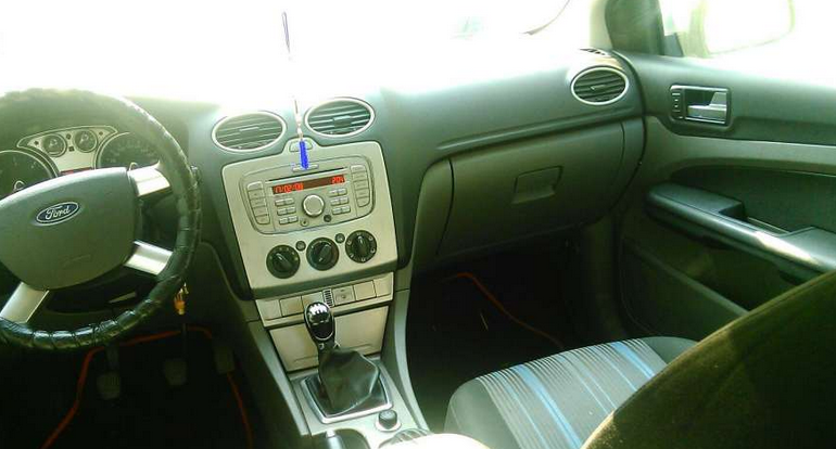 interior ford focus second hand
