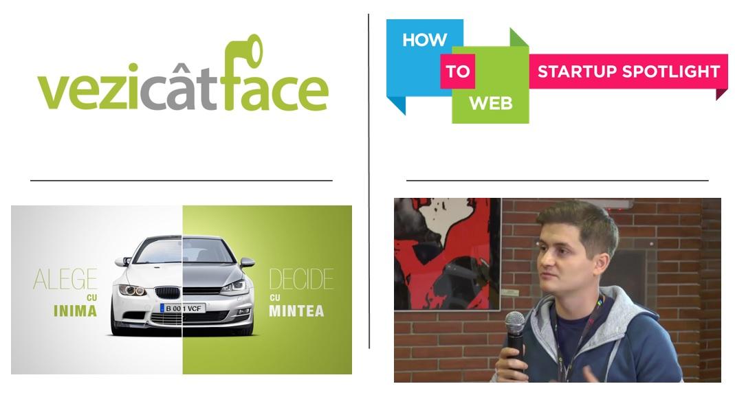 Interviu despre planurile VeziCatFace la How to Web 2016